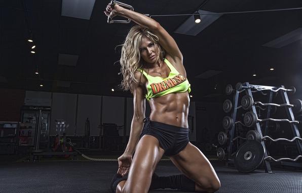 Cute Babydoll Wallpaper Wallpaper Look Pose Workout Fitness Abs Torrie Wilson