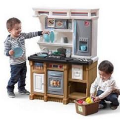 Childrens Kitchens Kitchen Cart Stainless Steel 超值价过家家厨房玩具step2 Lifestyle 儿童厨房玩具 58 38 约 1287 77 Step2