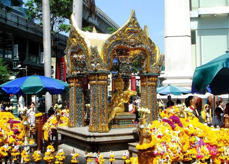 泰國曼谷四面佛-曼谷旅遊攻略-Hopetrip旅遊網