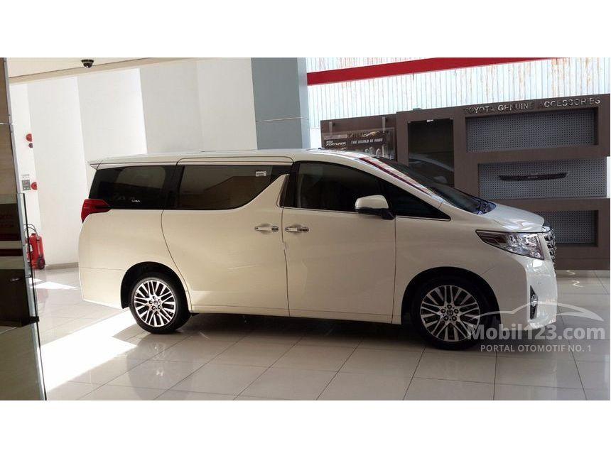 all new toyota alphard 2018 indonesia jual mobil 2017 g 2 5 di dki jakarta automatic van wagon