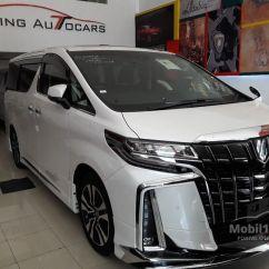 All New Toyota Alphard 2018 Indonesia Konsumsi Bbm Camry Jual Mobil G 2 5 Di Dki Jakarta Automatic Van Wagon