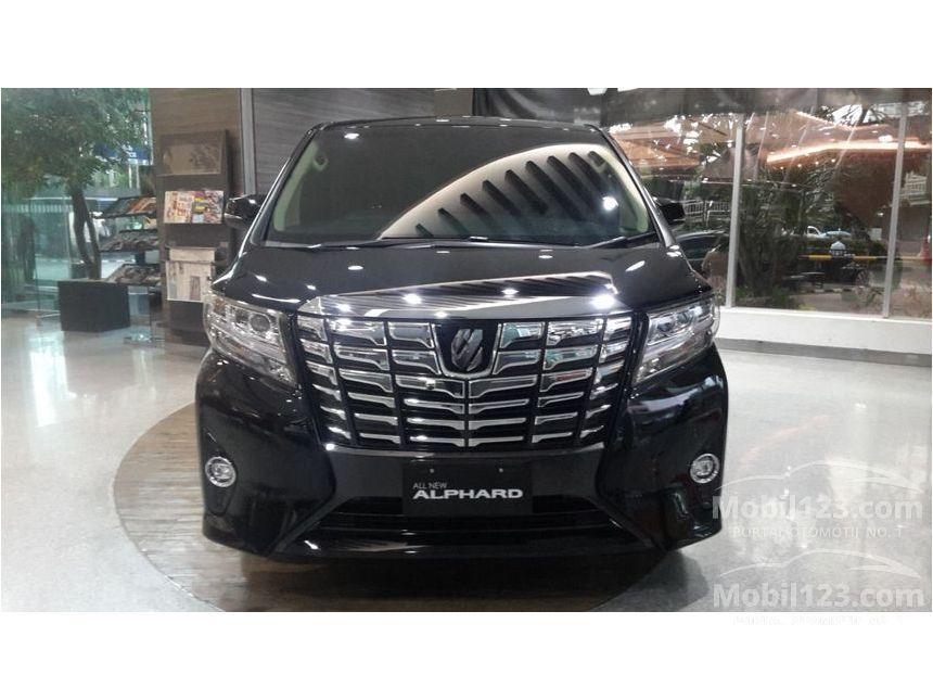 jual all new alphard vellfire price mobil toyota 2018 g 2 5 di jawa barat automatic van wagon