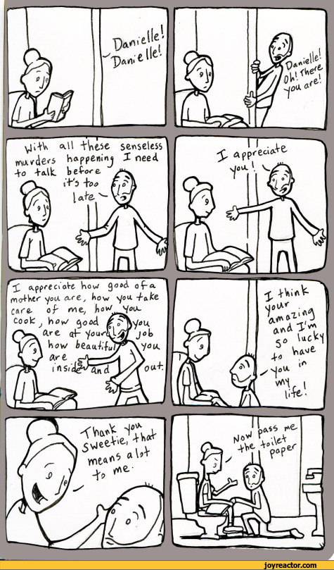 I appreciate you / lunarbaboon :: confession :: husband