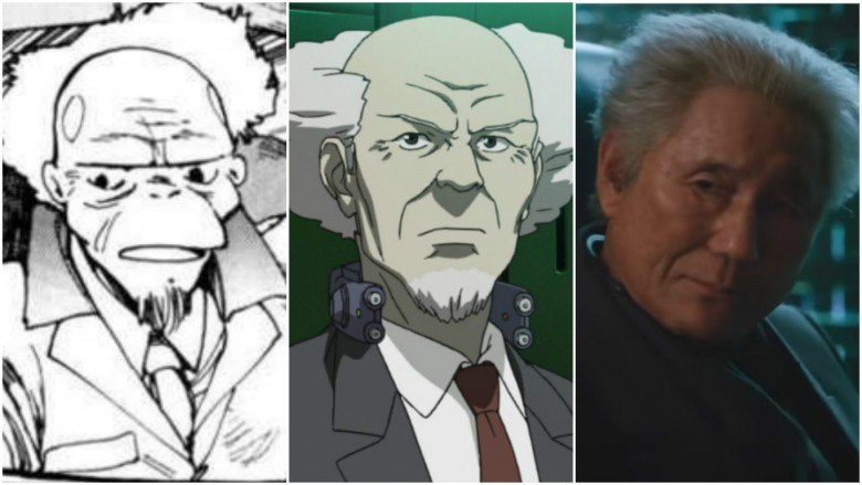 How the Ghost in the Shell characters should look