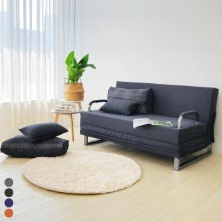 【BN-Home】Alice愛麗絲雙人六段式摺疊沙發床(雙人沙發/沙發床/獨立筒床墊)