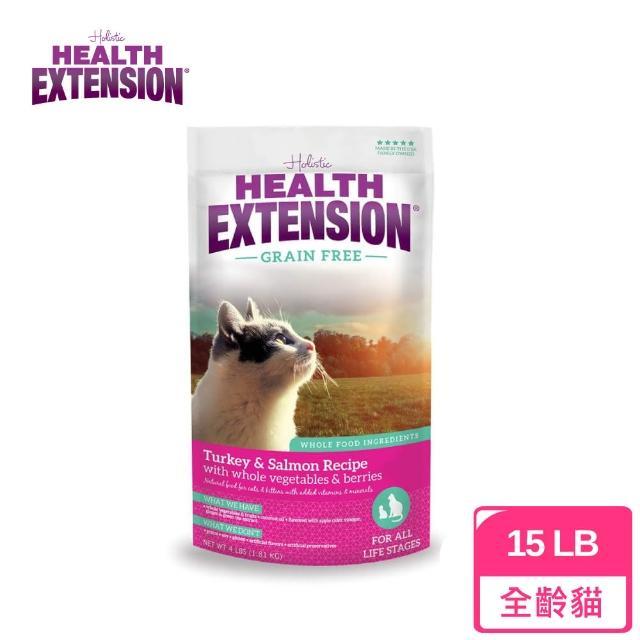 【Health Extension 綠野鮮食】天然無穀成幼貓糧-紅-15LB(A002B02) - momo購物網