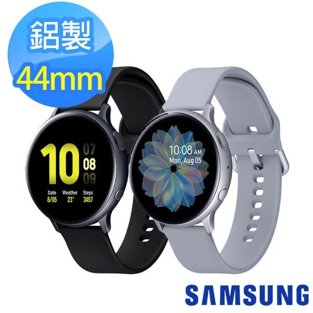 【SAMSUNG 三星】Galaxy Watch Active2 44mm 鋁製 藍牙智慧手錶(R820)