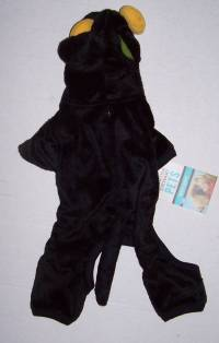 Martha Stewart Pets Black Cat Costume for Dogs Dog Size ...