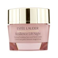 Estee Lauder Resilience Lift Night Firming/Sculpting Face and Neck Creme (All Skin Types) 50ml/1.7oz