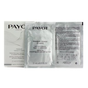 Payot Absolute Pure White Masque Visage Clarte Lightening Smoothing And Redensifying Mask 5x21ml/0.71oz