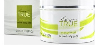 BeingTRUE Energy Work Active Body Peel 240ml/8oz