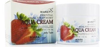 IKIARA Aqua Cream (Moisture Jelly Type) - Essential Real Strawberry 50g/1.7oz