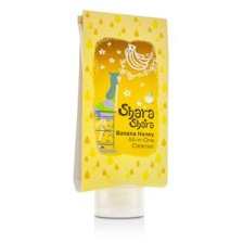 Shara Shara All-In-One Cleanser - Banana Honey - For Face & Body 200ml/6.76oz