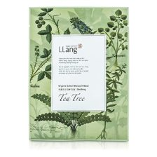 LLang Organic Cotton Blossom Mask - Tea Tree (Soothing) 10x22ml/0.7oz