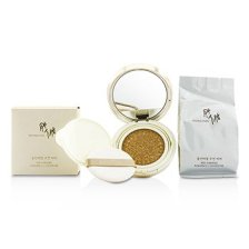 Donginbi Red Ginseng Radiance Cushion BB SPF50+ With Extra Refill - # 21 (Bright Beige) 2x18g/0.59oz