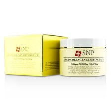 SNP Gold Collagen Sleeping Pack - Elasticity 100g/3.5oz