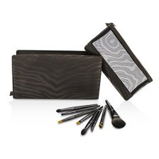 Laura Mercier Luxe Travel Brush Collection (8x Travel Brush, 1x Travel Case) 8pcs+1case