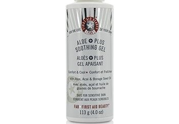 First Aid Beauty Aloe Plus Soothing Gel 113g/4oz