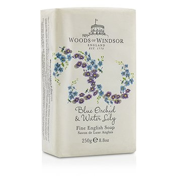 Woods Of Windsor Blue Orchid & Water Lily Fine English Soap 250g/8.8oz