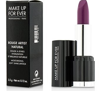 Make Up For Ever Rouge Artist Natural Soft Shine Lipstick - #N28 Purple 3.5g/0.12oz