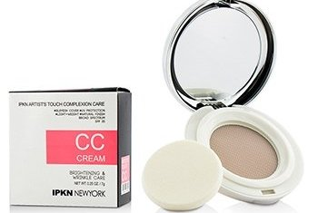 IPKN New York Artist's Touch Complexion Care CC Cream (Compact) - #01 Light 7g/0.25oz