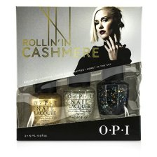 O.P.I Gwen Stefani Rollin' In Cashmere Nail Effects Trio 3x15ml/0.5oz