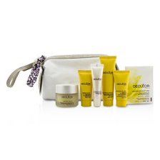 Decleor Gift Set: Night Balm 30ml + Rich Cream 15ml + Night Cream 15ml + Lip Balm 10ml + Massage Balm 25ml + Aromessenc Iris 1ml + Bag 6pcs+1bag