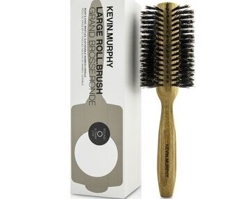 Kevin.Murphy Large Roll.Brush - Round 70mm (Boar & Ionic Bristles, Sustainable Bamboo Handle) 1pc