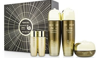 Farm Stay Escargot Noblesse Intensive Skin Care Set: Toner 150ml + Emulsion 150ml + Cream 50g..... 5pcs