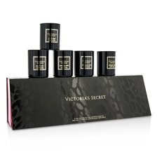 Victoria's Secret A Collection Of Five Scented Candles: Midnight Sky + Luminous Amber + Pink Musk + Sparkling Woods + Vanilla Noir 5x56g/2oz