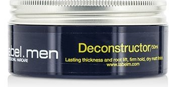 Label.m Men's Deconstructor (Lasting Thickness and Root Lift, Firm Hold, Dry Matt Finish) 50ml/1.7oz