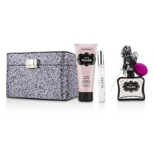 Victoria's Secret Sexy Little Things Noir Tease Coffret: Eau De Parfum Spray 50ml/1.7oz + Body Lotion 100ml/3.4oz + Eau De Parfum Rollerball 7ml/0.23oz + Case 3pcs+1case
