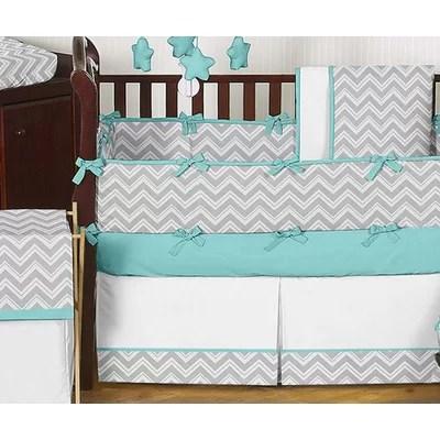 Zig Zag Crib Bedding Collection
