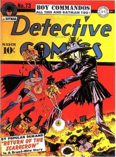 Cover for Detective Comics 73 1943