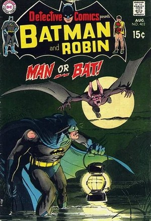 Cover for Detective Comics #402 (1970)