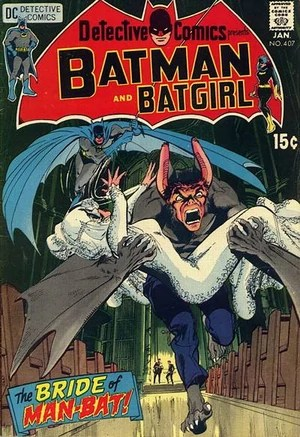 Cover for Detective Comics #407 (1971)