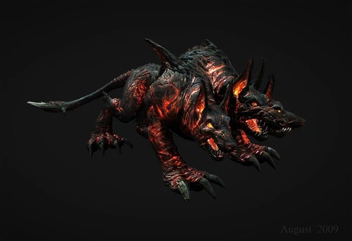 Mythical Creatures In The Fall Wallpaper Hades Cerberus Breeder Villains Wiki Villains Bad