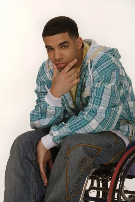 wheelchair drake light blue chairs dlisted jimmy took a swipe at macklemore during the an original song titled honorable mentions side pieces yanked on his emergency brake and left set of skid