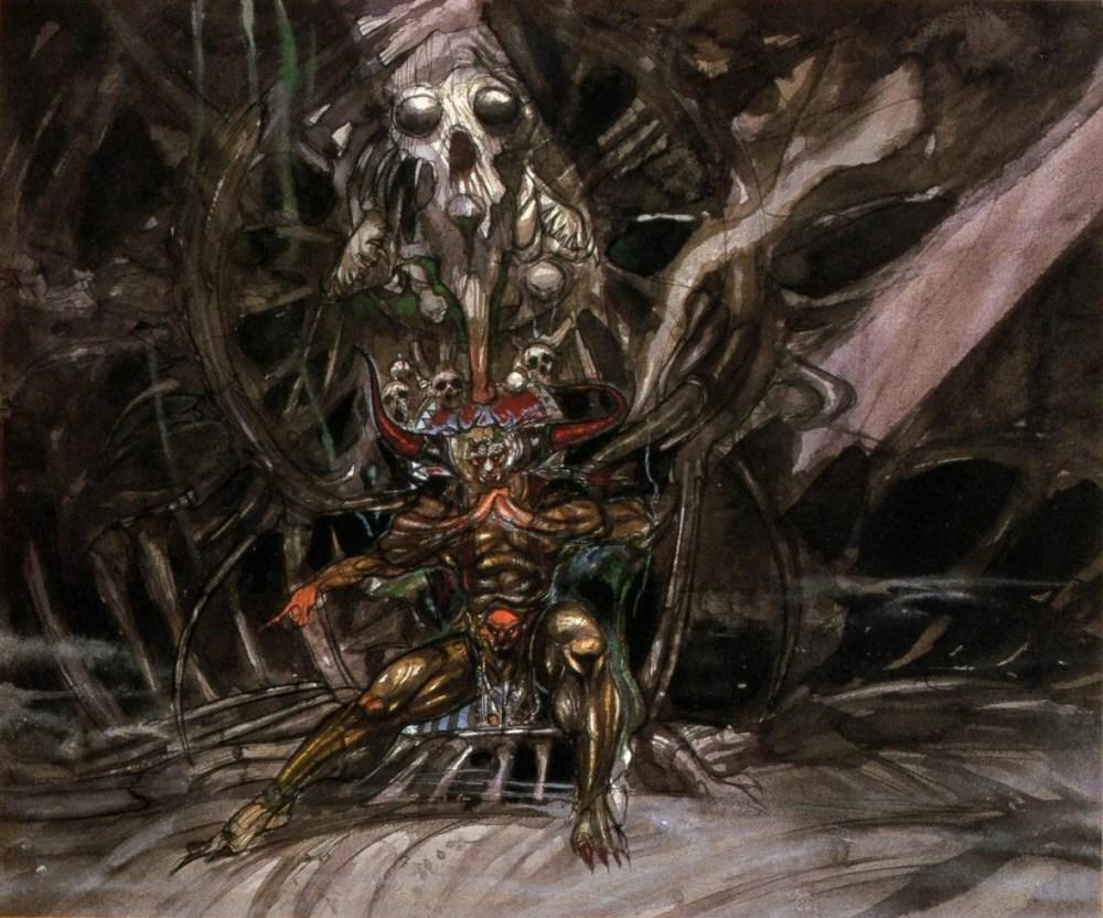 Evil Dark Spirit Girl Wallpaper Hd Chaos Final Fantasy The Final Fantasy Wiki 10 Years