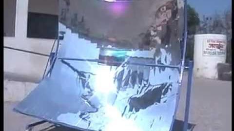 Parabolic solar cooker (Demo)