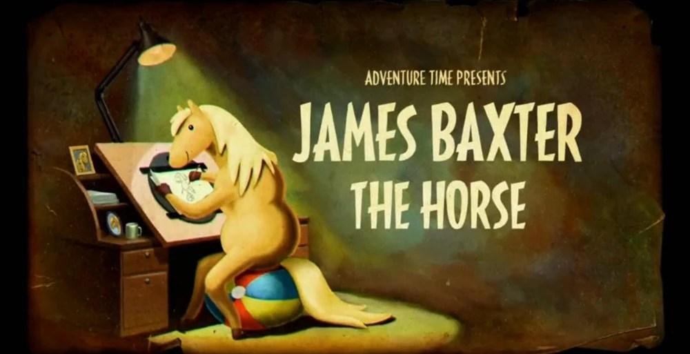 Adventure Time Reviews: Season 5 (James Baxter the Horse/Shh