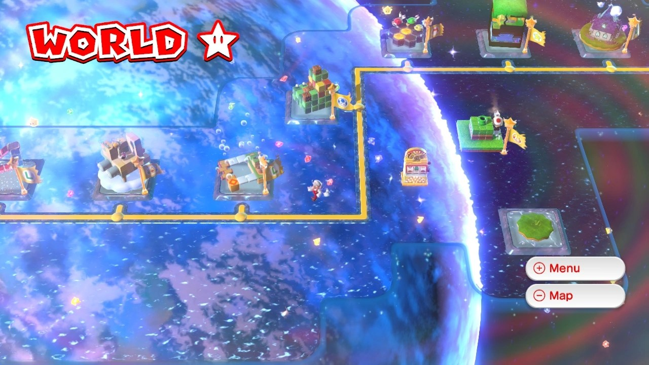 Super Mario 3d World Stamps
