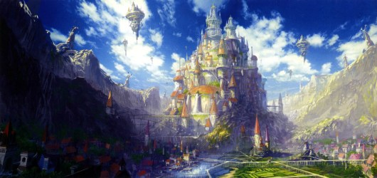 anime scenery castle fairy castles tail pokemon fantasy google kingdom nagt academy place landscape library guild save gifted teens national