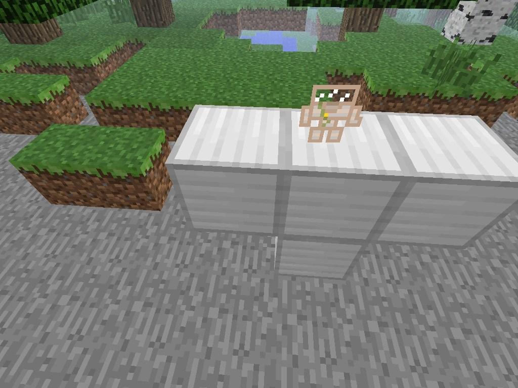 Golem Minecraft Mecha Paper