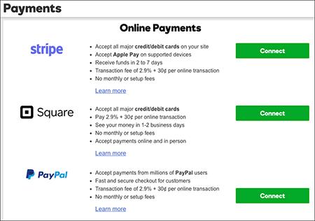 add payment method godaddy