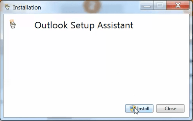 Outlook Setup Assistant Windows Set up email