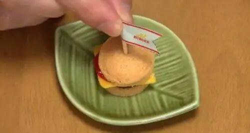 hamburguesapolvo39 - Mini Hamburguesas en polvo un invento asiático