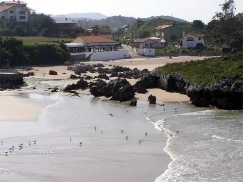 Playa de la Palombina, Celorio