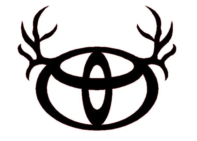 Toyota Logo Antlers
