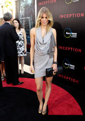 AnnaLynne McCord leggy in sexy dress showing a lot side-boob at Inception Los Angeles Premiere - Hot Celebs Home